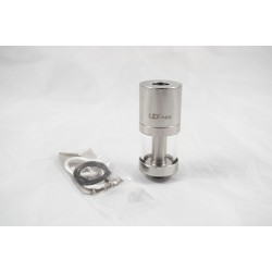 UD AGI Rebuildable Atomizer in Stainless Steel with Pyrex Tank
