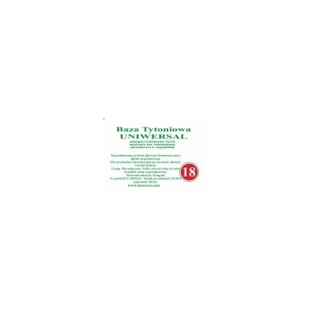 Inawera - universal base 18 mg - 100 ml