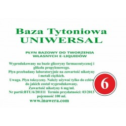 Inawera - universal base 6mg - 100 ml
