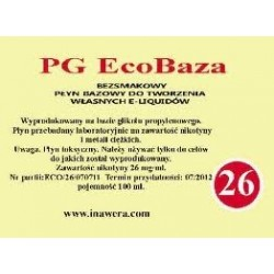 Inawera - PG EcoBaza 24 mg - 100 ml