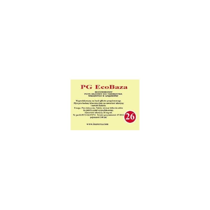 Inawera - PG EcoBase 26 mg - 100 ml
