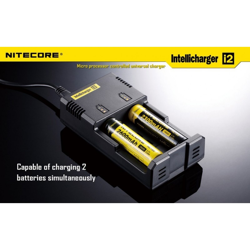 Nitecore i2 Intelligent Charger