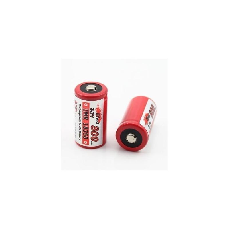 Acumulator Efest IMR 18350 800mAh 3.7V button top