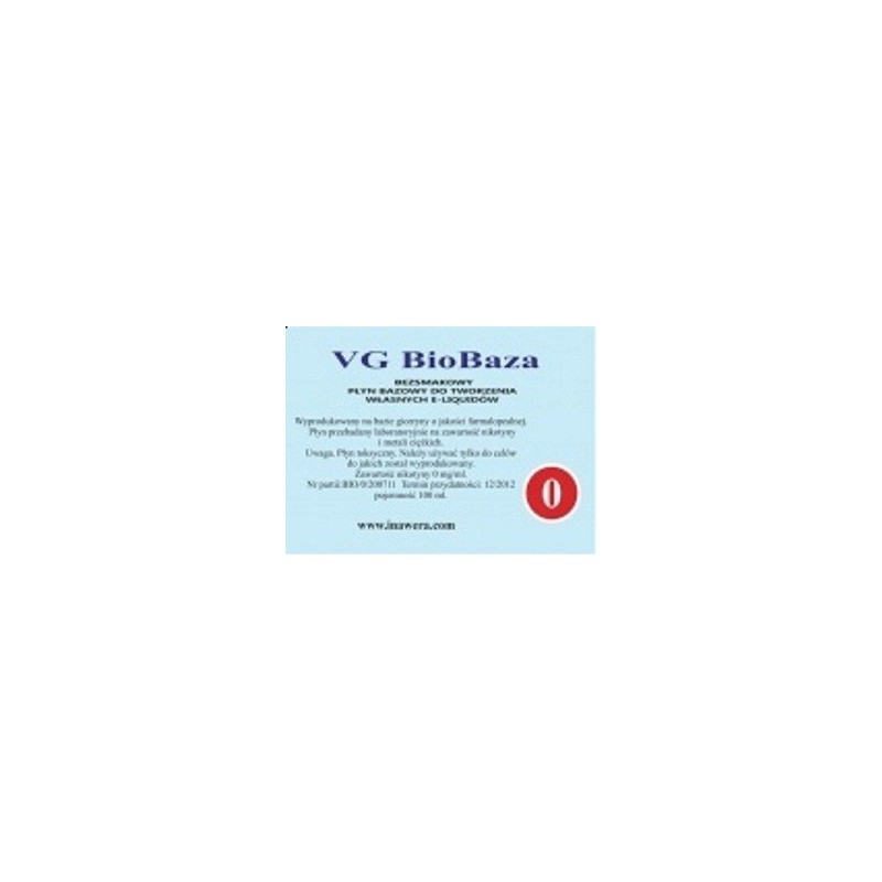 Inawera - VG Biobaza 0mg - 100 ml