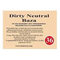 Inawera - Dirty Neutral Baza 36mg - 100 ml