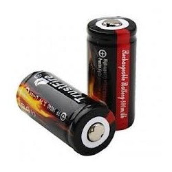 TrustFire 16340 880mAh 3.7V Protected (with PCB) button top