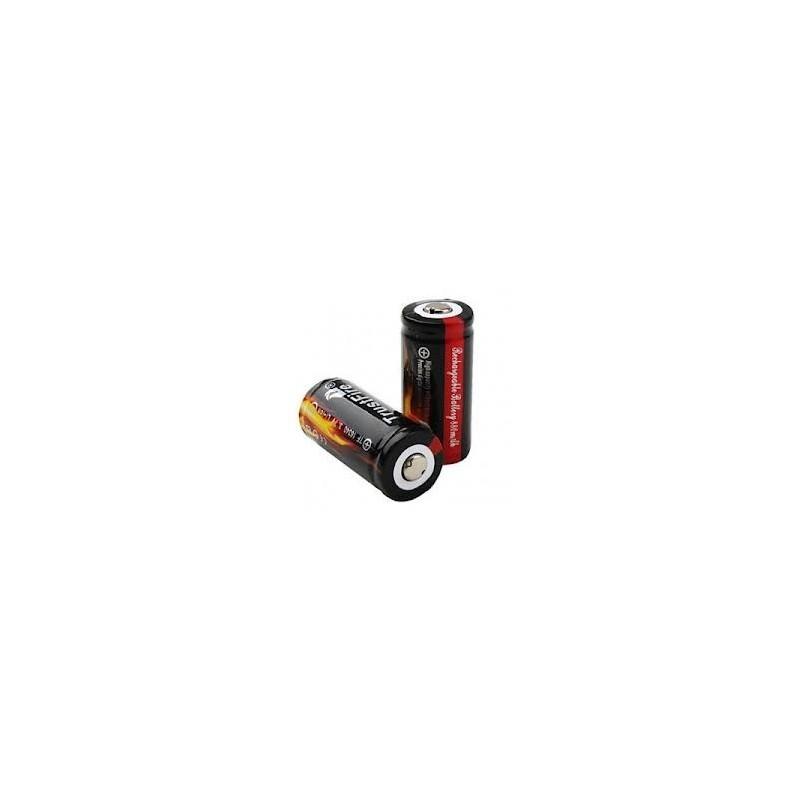 Acumulator TrustFire 16340 880mAh 3.7V cu protectie (PCB) button top