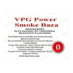 Inawera - VPG Smoke Base Power 0mg - 100 ml
