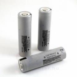 Panasonic flat top 2250mAh CGR18650 Battery without PCB