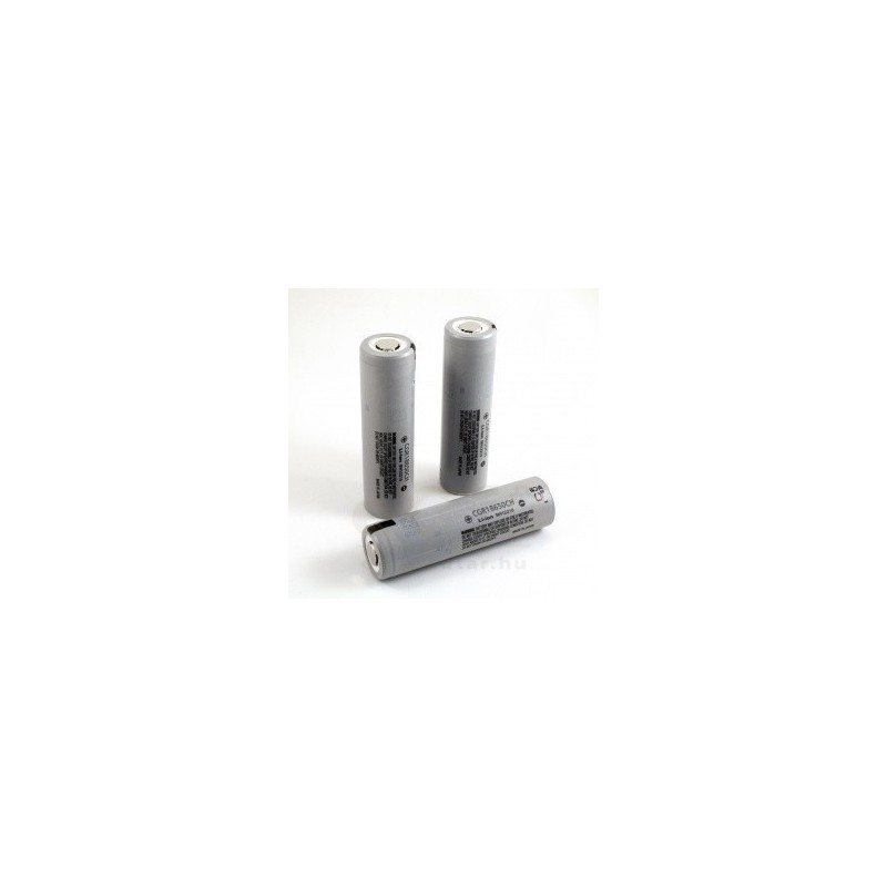 Acumulator Panasonic flat top 2250mAh CGR18650 fara PCB