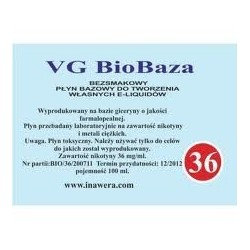 Inawera - Biobase VG 36mg - 100 ml