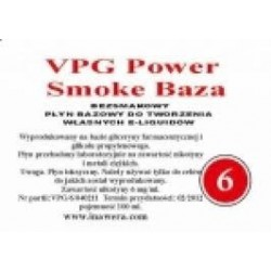 Inawera - VPG Smoke Base Power 6mg - 100 ml