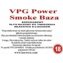 Inawera - VPG Smoke Base Power 18mg - 100 ml