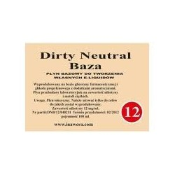 Inawera -  Dirty Neutral Baza 12mg - 100 ml