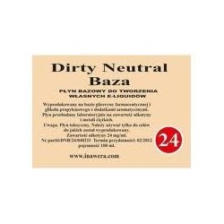 Inawera -  Dirty Neutral Baza 24mg - 100 ml