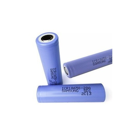 Samsung 18650 2800mah 3.7V with PCB Flat Top