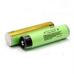 Panasonic Battery 3400 mAh with PCB - NCR 18650B button top