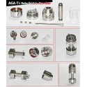 AGA-T+ Genesis R/A Stainless Steel cu rezervor din Polycarbonat