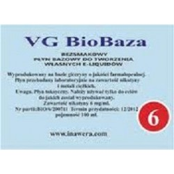 Inawera - Biobase VG 6mg - 100 ml