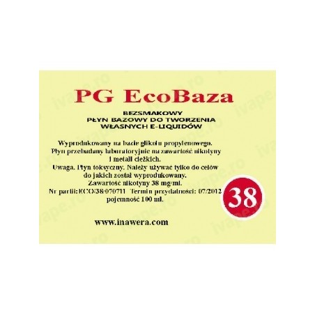 Inawera - PG EcoBaza 36 mg - 100 ml
