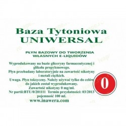 Inawera - universal base 0mg - 100 ml