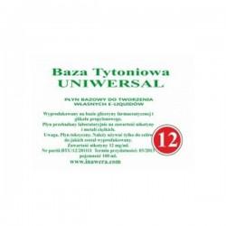 Inawera - baza universala 12mg - 100 ml