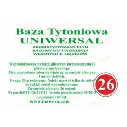 Inawera - universal base 24 mg - 100 ml