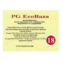 Inawera - PG EcoBaza 18 mg - 100 ml