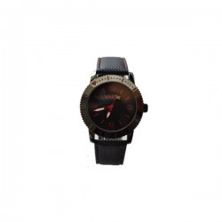 VAPO watch black quadrant red writing