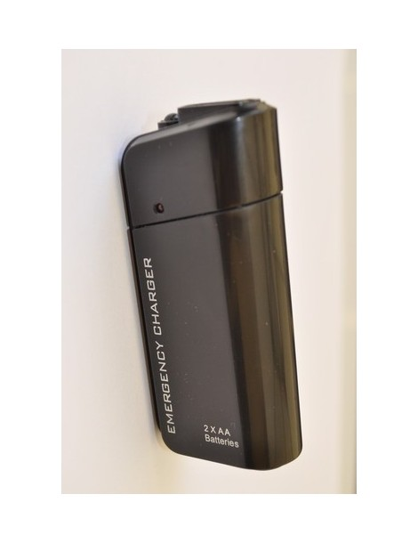 Emergency Charger with two R6 (AA) batteries