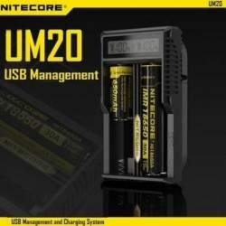 Nitecore UM20 usb management intelligent charger
