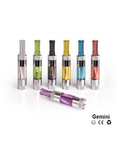 Gemini Dual Coil 2ml eGo Clearomizer