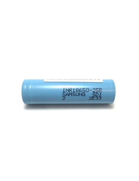 Samsung 25R INR 18650 Battery with 2500mAh