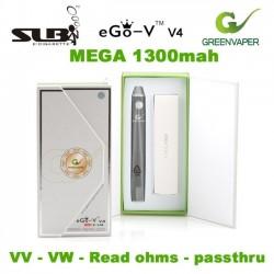 MEGA BATERIE Greenvaper (SLB) EGO-V V4 1300mah VV si WV