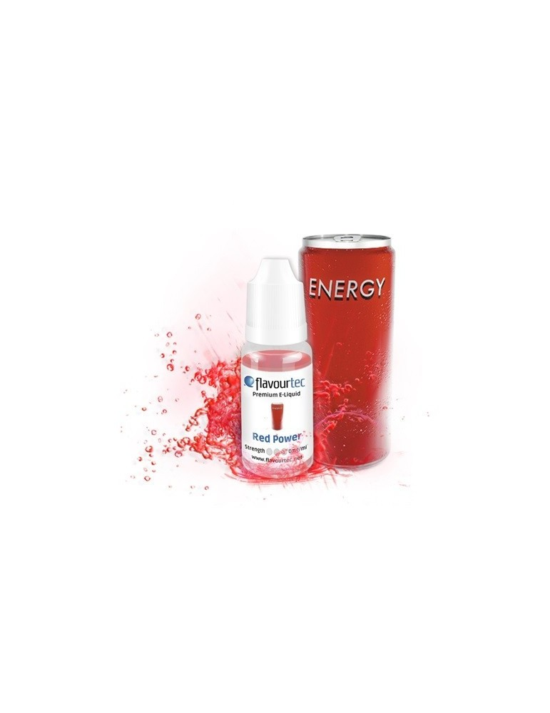 Red Power e-liquid 10ml Flavourtec