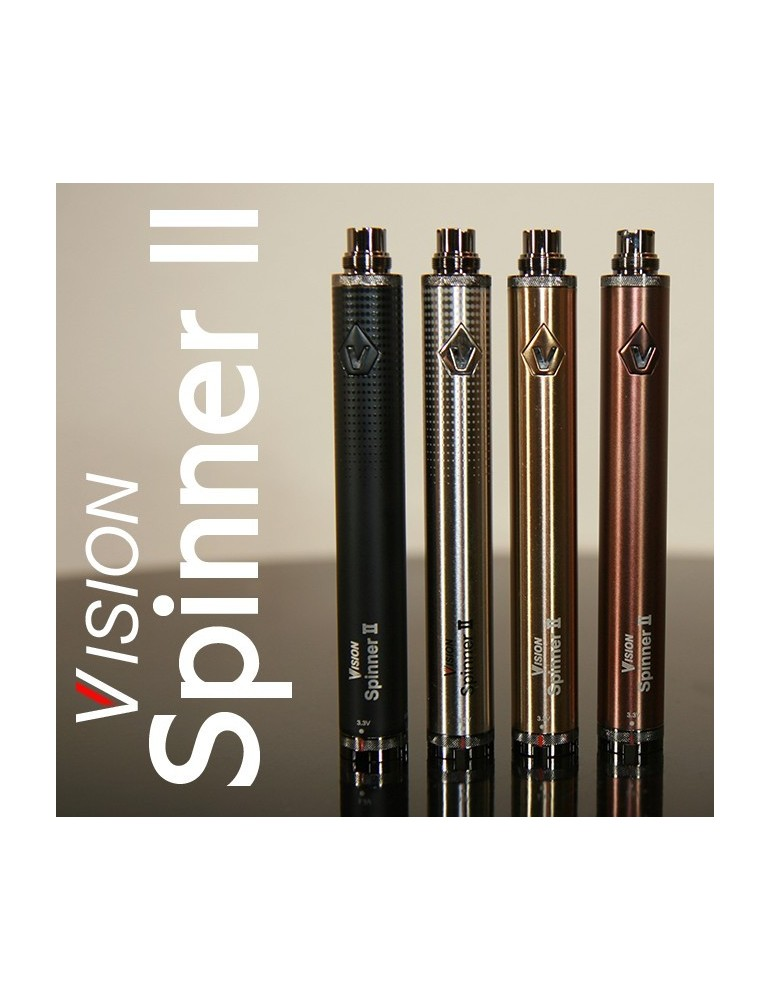 Vision Spinner v2 with 1650mAh Variable Voltage Battery 2014 model