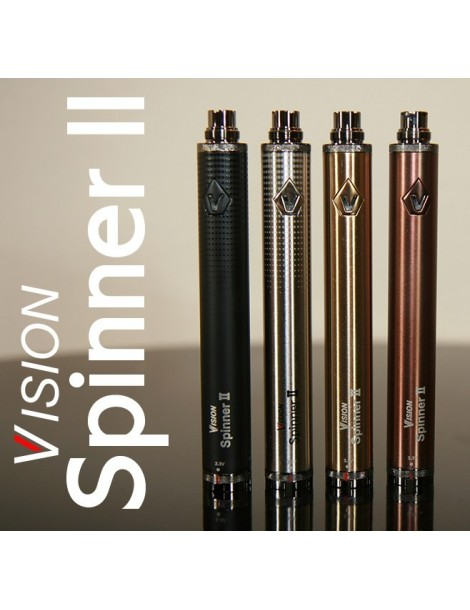 Vision Spinner 2 capacitate 1650mAh baterie cu voltaj variabil reglabil