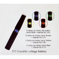 Baterie cu voltaj variabil 650 mAh FT (Famous Tech)