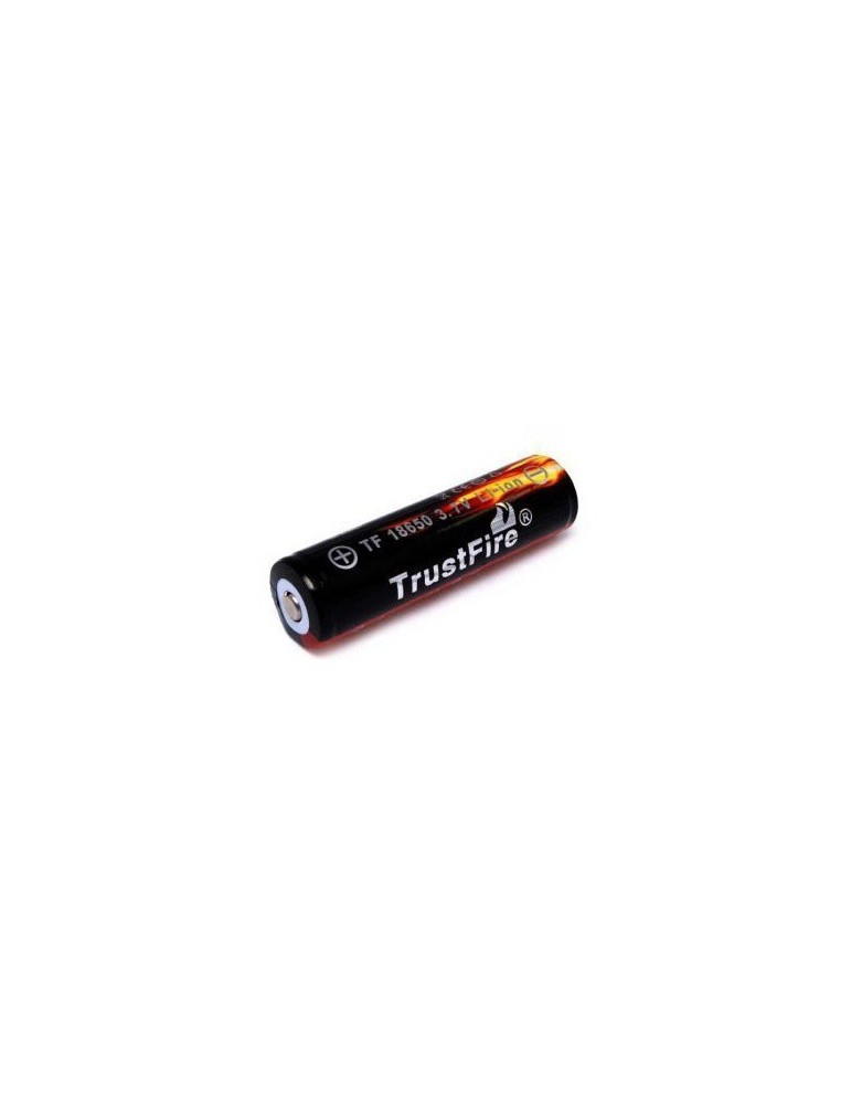 Trustfire Battery 18650 with PCB 3000mAh 3.7V Button Top