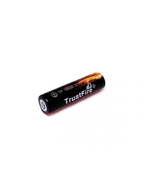 Acumulator Trustfire 18650 fara PCB 3000mAh 3.7V Button Top
