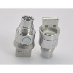 Adaptor usb cu tensiune variabila si filet eGo - 510