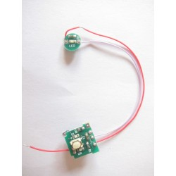 electronic board for ego-T battery with level indicator led