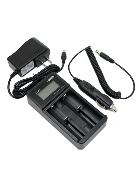 Efest Luc v2 LCD Multi-function universal battery charger with car adapter