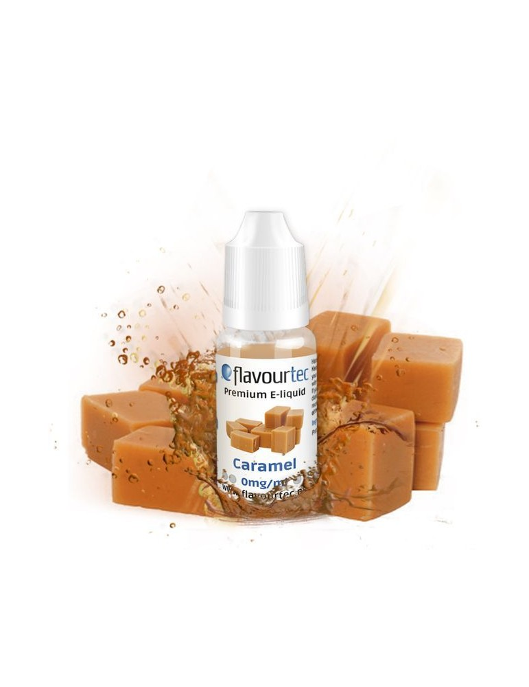 Caramel e-liquid 10ml Flavourtec