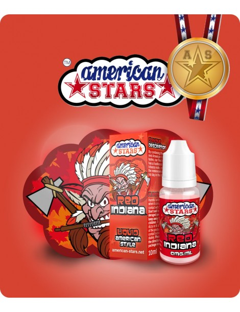 Red Indiana American Stars 10ml