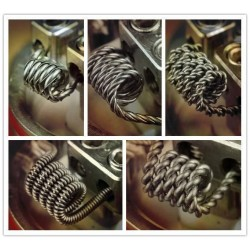 Hive Wire Pre-Made Coils 0.4mm