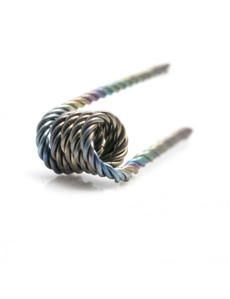 Quad Twisted Wire Pre-Made Coils 0.32mm