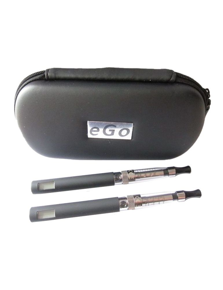 Duo Kit LCD Electronic Cigarette with V3-no wick Clearomizer