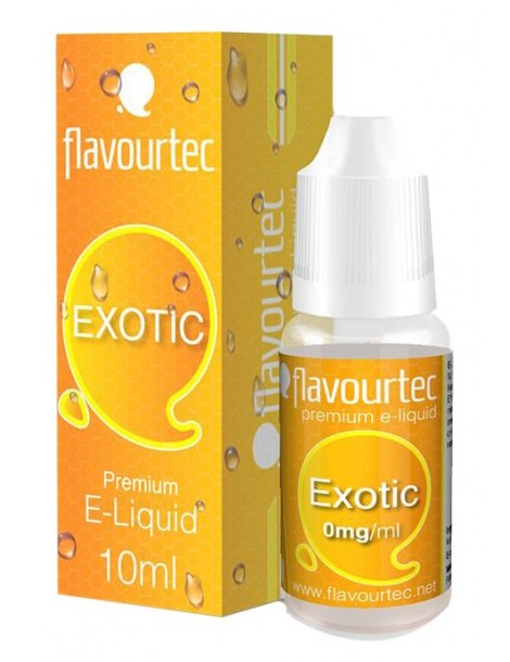 Exotic e-liquid 10ml Flavourtec