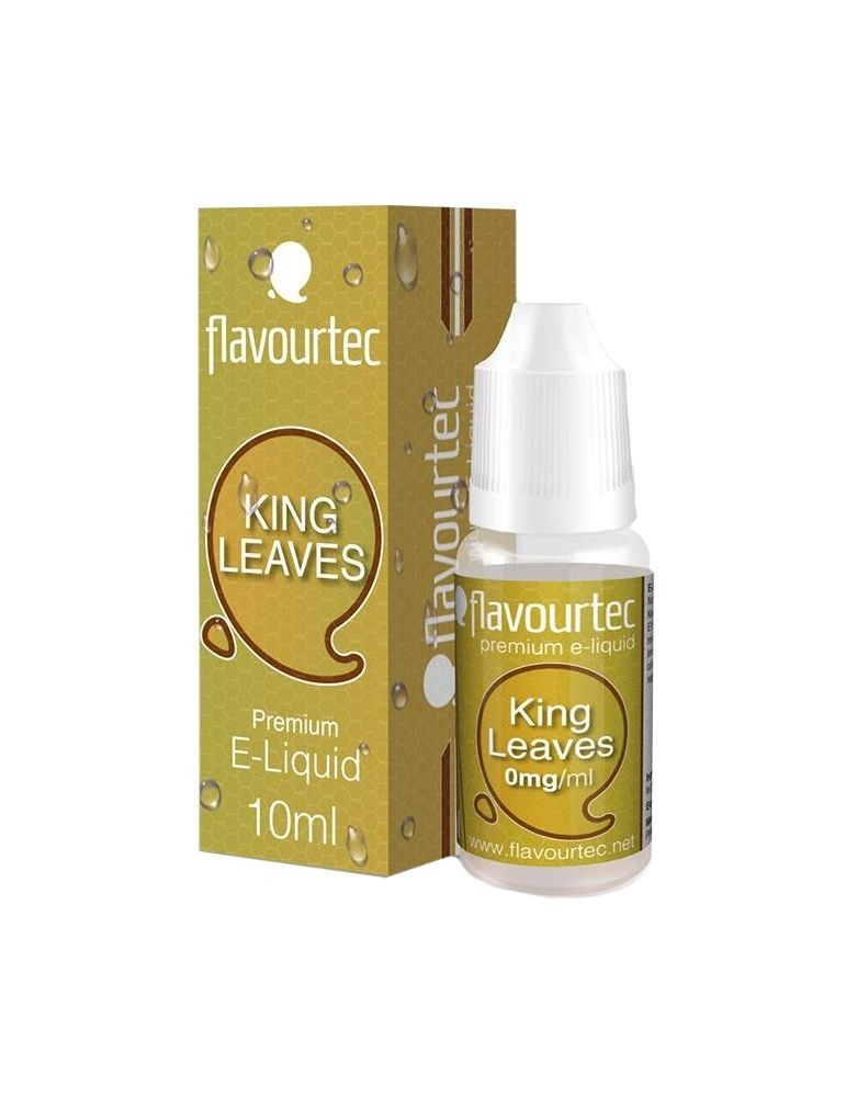 King Leaves Tabac 10ml Flavourtec